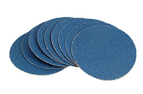 Karebac 5hsz40 40 Grit Heavyweight Zirconia PSA Sticky Discs, 5