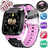 Kids Smartwatch, Waterproof GPS Tracker, Child Watch Phone, Camera Watch, SOS Alarm Clock