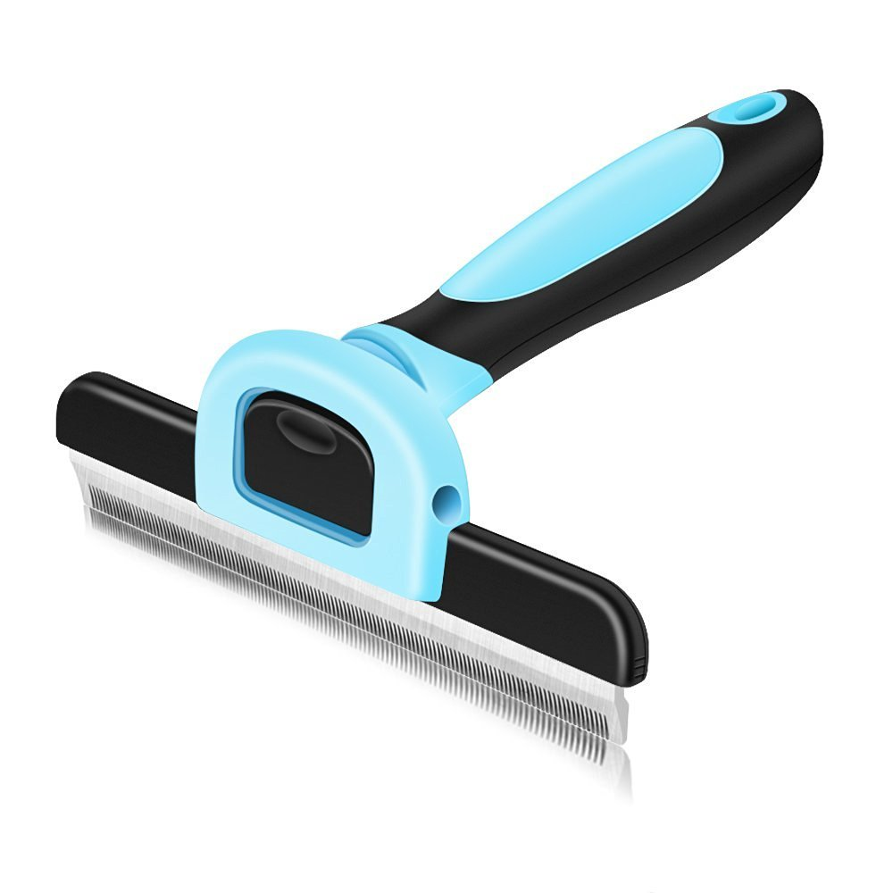 VersionTech Cepillo para mascotas perros y gatos Cepillo de limpieza de mascotas