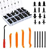 LIHAO 240 Pcs Push Retainer Clips Fasteners Rivets Kit for GM Ford Toyota Honda Chrysler
