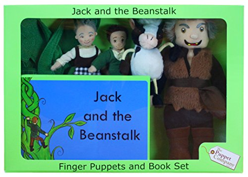 Beanstalk Game - The Puppet Company Traditional Story Sets Jack & The Beanstalk Book and Finger Puppets Set