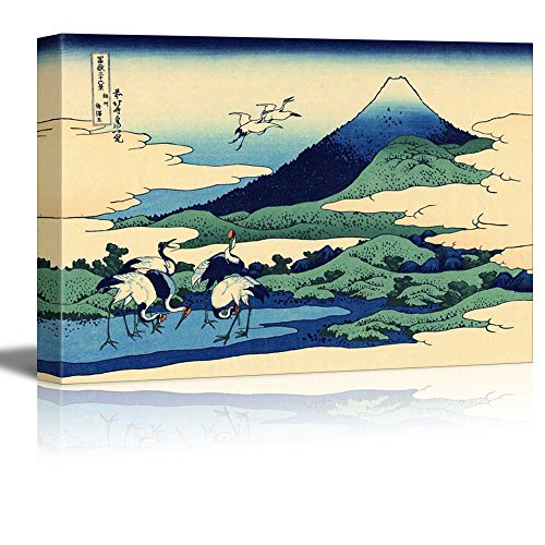 Umezawa in Sagami province by Katsushika Hokusai Print Famous Painting Reproduction