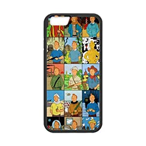 iPhone 6 Case, [the adventures of tintin] iPhone 6 (4.7) Case Custom Durable Case Cover for iPhone6 TPU case(Laser Technology)