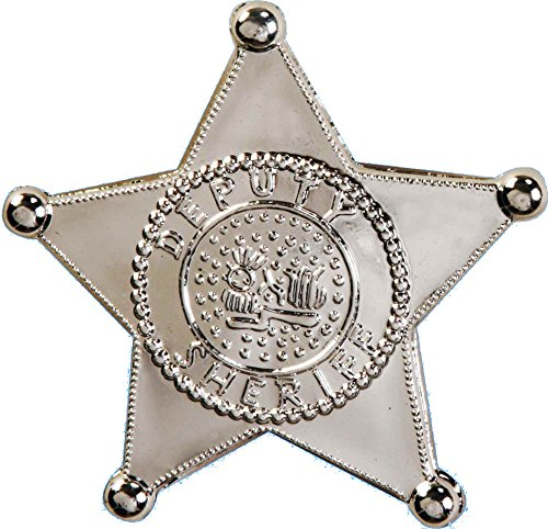 Extra Badges (Forum Novelties Jumbo Sheriff Star Badge)