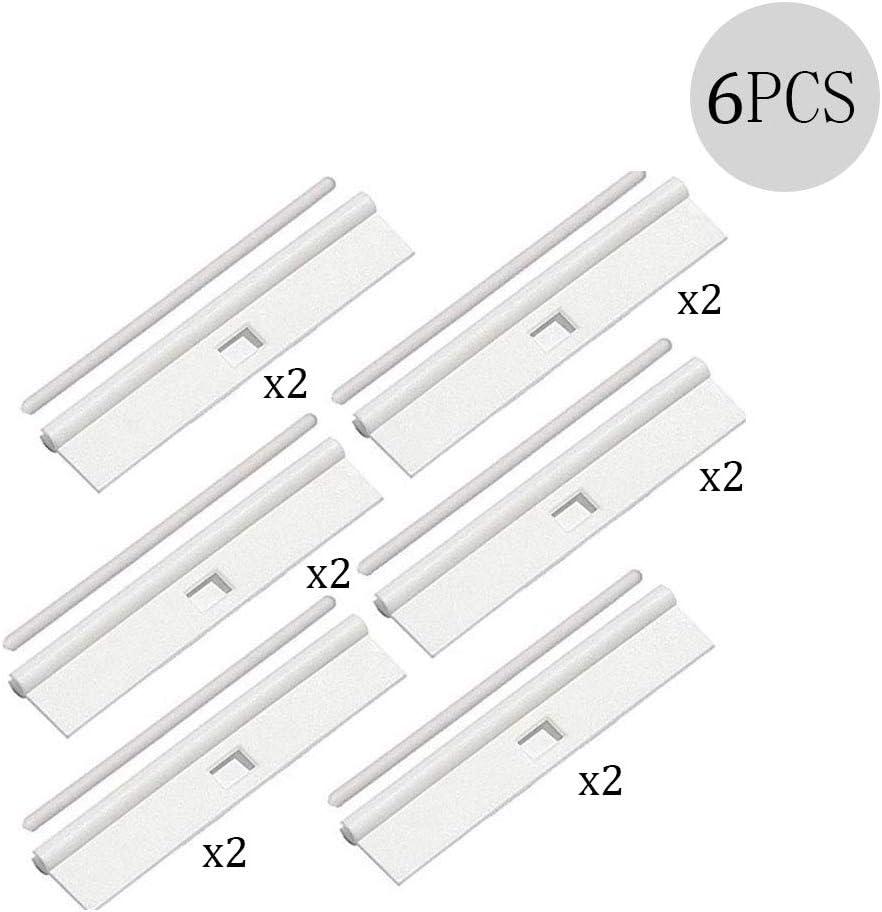 XFentech Vertical Blind Top Hanger 12 Pcs Vertikaler Vorhang 89mm Einfache H/ängefilm