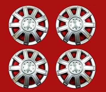 Classic 4 unidades Tapacubos – Tapacubos Tapacubos pulgadas 16 óptica de aluminio Llantas ...