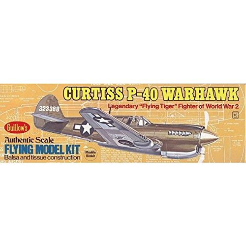 Curtiss P-40 Warhawk (Guillows Model Airplane Kits compare prices)