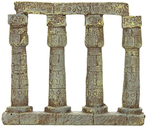 SPORN Aquarium Decoration, 4-PC (Column Ruins Aquarium Ornament)