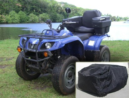 Deluxe Atv - Deluxe ATV Covers (XXL). Fits Utility ATV up to 100