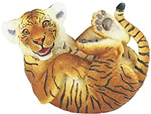 StealStreet SS-G-54376 6.25-Inch Playful Brown Bengal Tiger Cub Figurine with Brownish Eyes