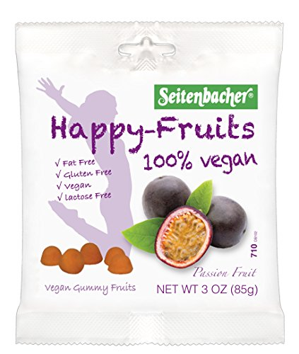 (Seitenbacher Happy Fruits, Passion Fruit, 3-Ounce Bags (Pack of 12) )