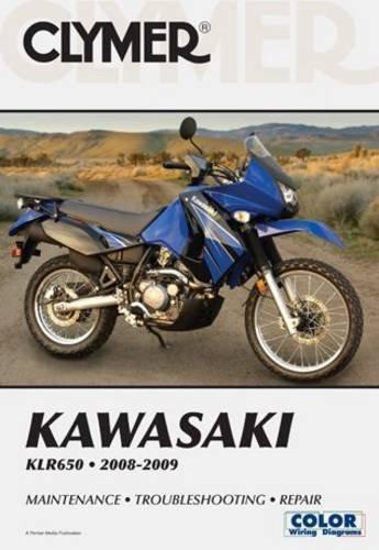 Clymer Kawasaki KLR650 2008-2009 (CLYMER MOTORCYCLE REPAIR)