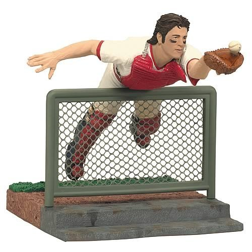 McFarlane 2011 MLB Cooperstown Series 8 Carlton Fisk Boston Red Sox Action Figure