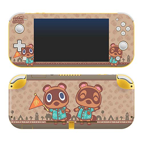 """🥇 Controller Gear Authentic and Officially Licensed Animal Crossing: New Horizons – """"Timmy & Tommy"""" Nintendo Switch Lite Skin"""