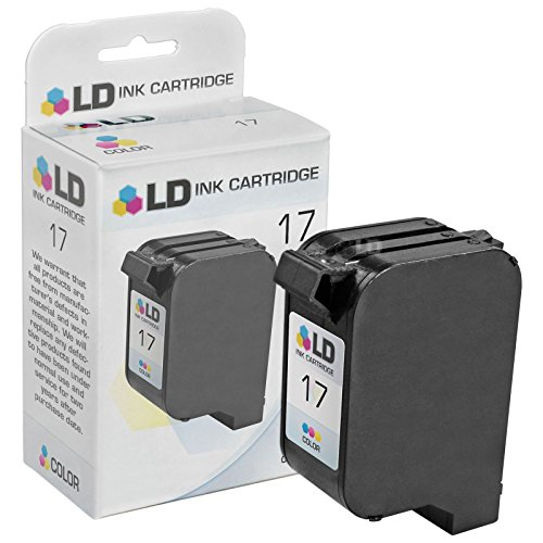 LD Remanufactured Ink Cartridge Replacement for HP 17 C6625AN (Color) ()