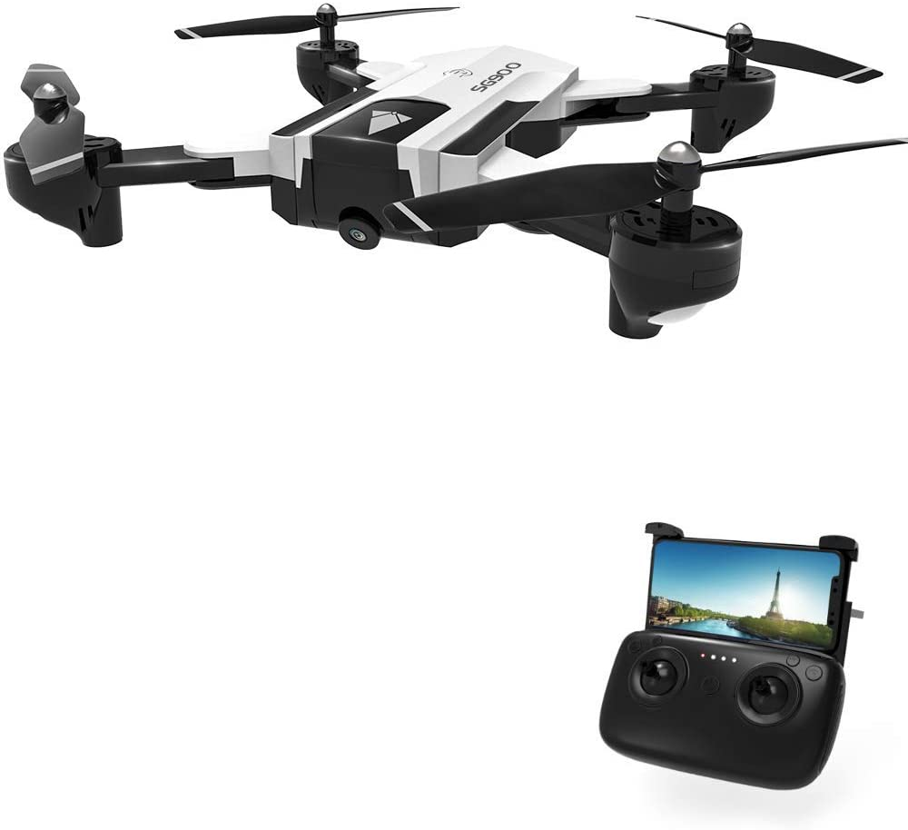 DeXop Drones with Camera for Adults SG900 720P HD Live Video Foldable Drone for Kids Beginners,22 mins Flight time,Altitude Hold,One Key Take Off/Landing