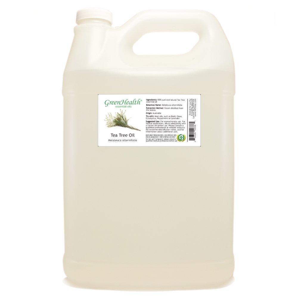 1 Gallon Tea Tree Essential Oil (100% Pure & Uncut) - GreenHealth