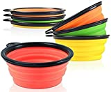 Hot Spot Pets Collapsible Travel Bowl (4 Pack)