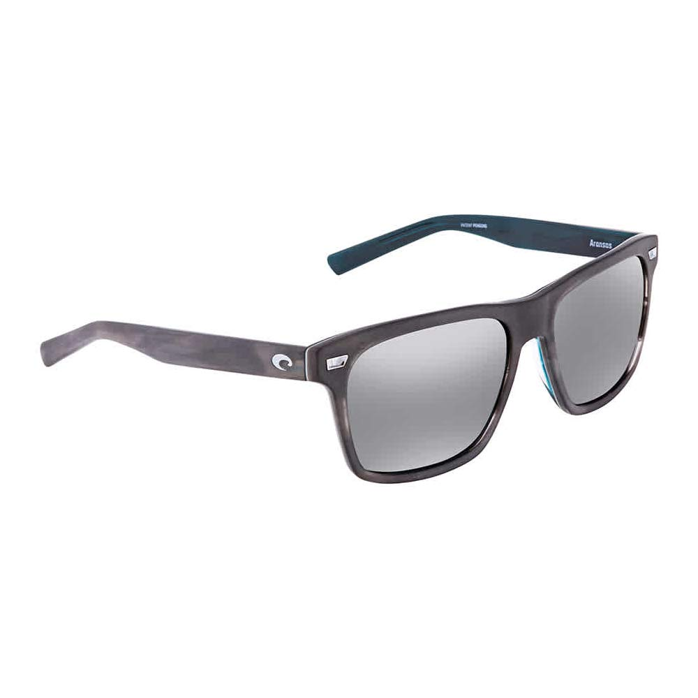 Costa Aransas Matte Storm Grey Plastic Frame Grey Lens Unisex Sunglasses ARA205OGGLP by Costa Del Mar