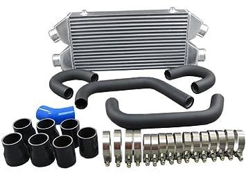 FMIC Intercooler Kit perno en para 90 - 96 300ZX Z32 Twin Turbo negro manguera de tuberías Negro: Amazon.es: Coche y moto