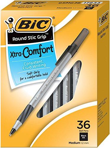 BIC Round Comfort Medium 36 Count product image