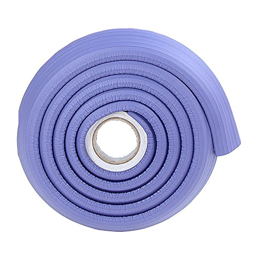 2x2M/13ft Protective Metal Door Edging Protector Multifunctional Cushion for Table Cabinet Counter Purple