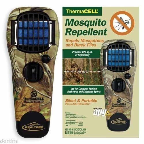 Appliance Thermacell - Thermacell Mosquito Repellent Appliance Realtree Camo MRTJ (newest model) box of 6