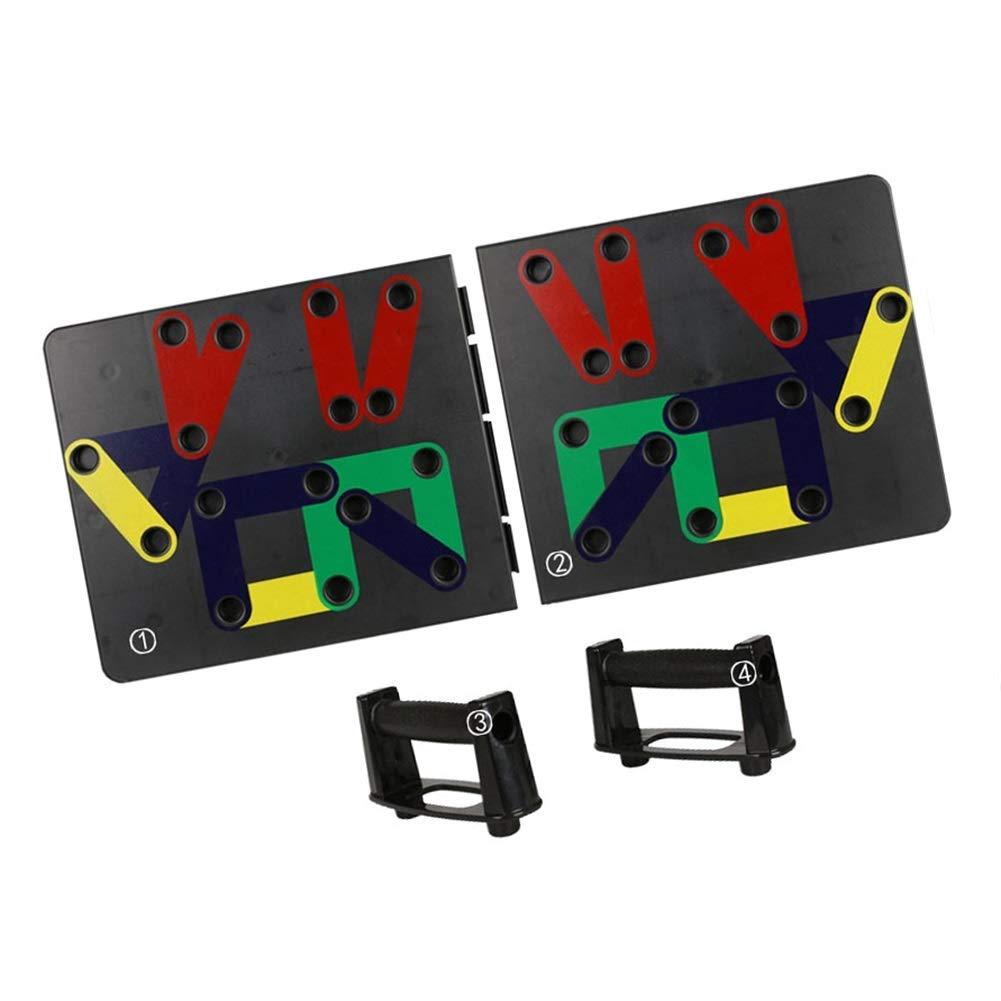 RYANbar プッシュアップバー フィットネス 多機能 ホームトレーニング器具 サポートプレート トレーニング 腕 胸 筋肉 エクササイズ  #14 B07PVNCW2N