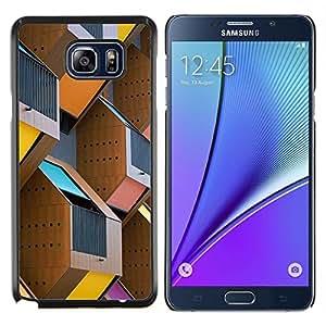 Stuss Case / Funda Carcasa protectora - Construcción de la Ciudad de la construcción de Ciudad - Samsung Galaxy Note 5