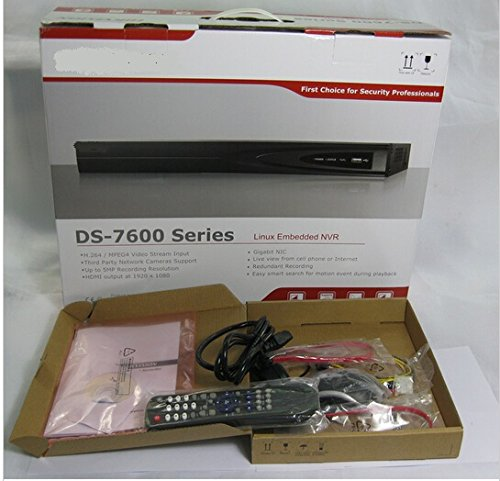 Embedded Plug /& Play DS-7608NI-K2//8P HIKVISION H.265 8-Channel PoE 4K Network Video Recorder NVR