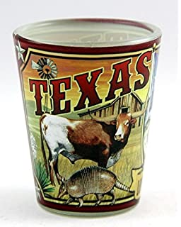 Texas Map Shot Glass World By Shotglass texasmp