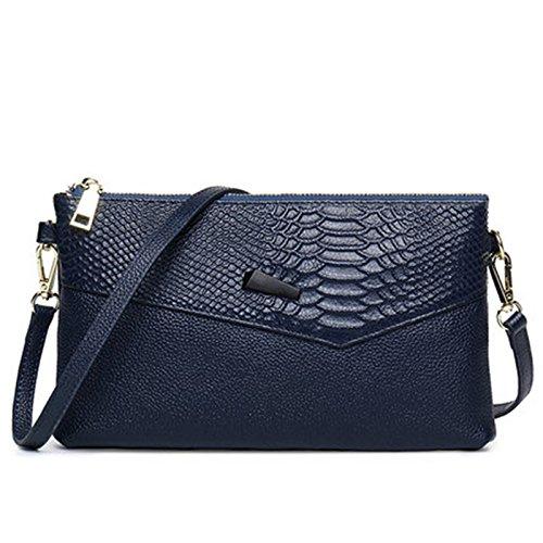 Evening Envelope Wedding Women's Handbags Bag Blue GSHGA Bags Messenger Bags Bag Clutch New Party Shoulder for Club qvwwUE8Zx