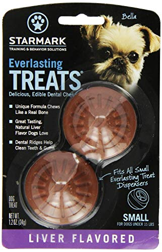 Everlasting Treat Liver, Small, 2 Pack of 2 (4 Treats Total)