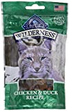 Blue Buffalo Wilderness Cat Treats-Chicken/Duck (Pack of 3)