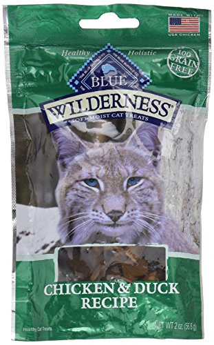 Blue Buffalo Wilderness Cat Treats-Chicken/Duck (Pack of 3) (Blue Cat Treats)