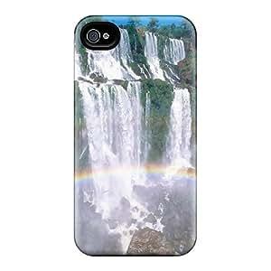 New Rainbowfall Tpu Case Cover, Anti-scratch PLSkvpE5683Obfbk Phone Case For Iphone 4/4s