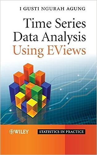 Amazon com: Time Series Data Analysis Using EViews