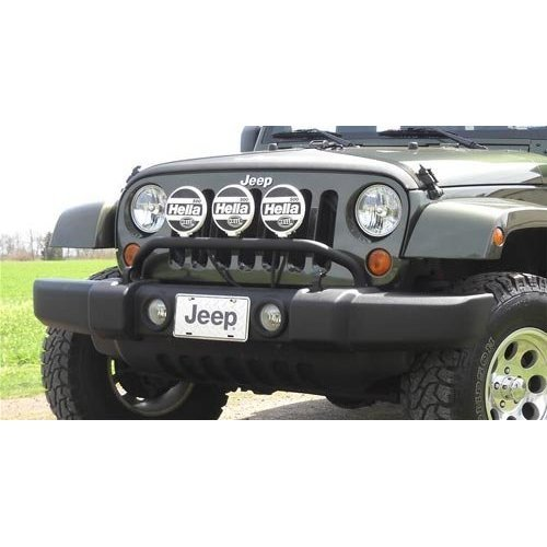 jeep bumper light bar - 1