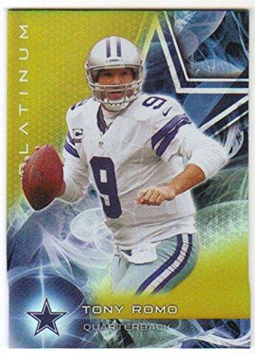 (2015 Topps Platinum Gold #10 Tony Romo Cowboys NFL Football Card NM-MT)