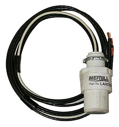 Metal Merrill MFG LA500HV 600V Single Phase Lightning Arrestor Plastic 3.36 x 4.22 x 0.88