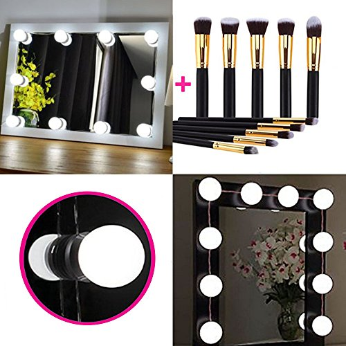 Hollywood Style LED Vanity Mirror Lights Kit, Vanity Lighting ...