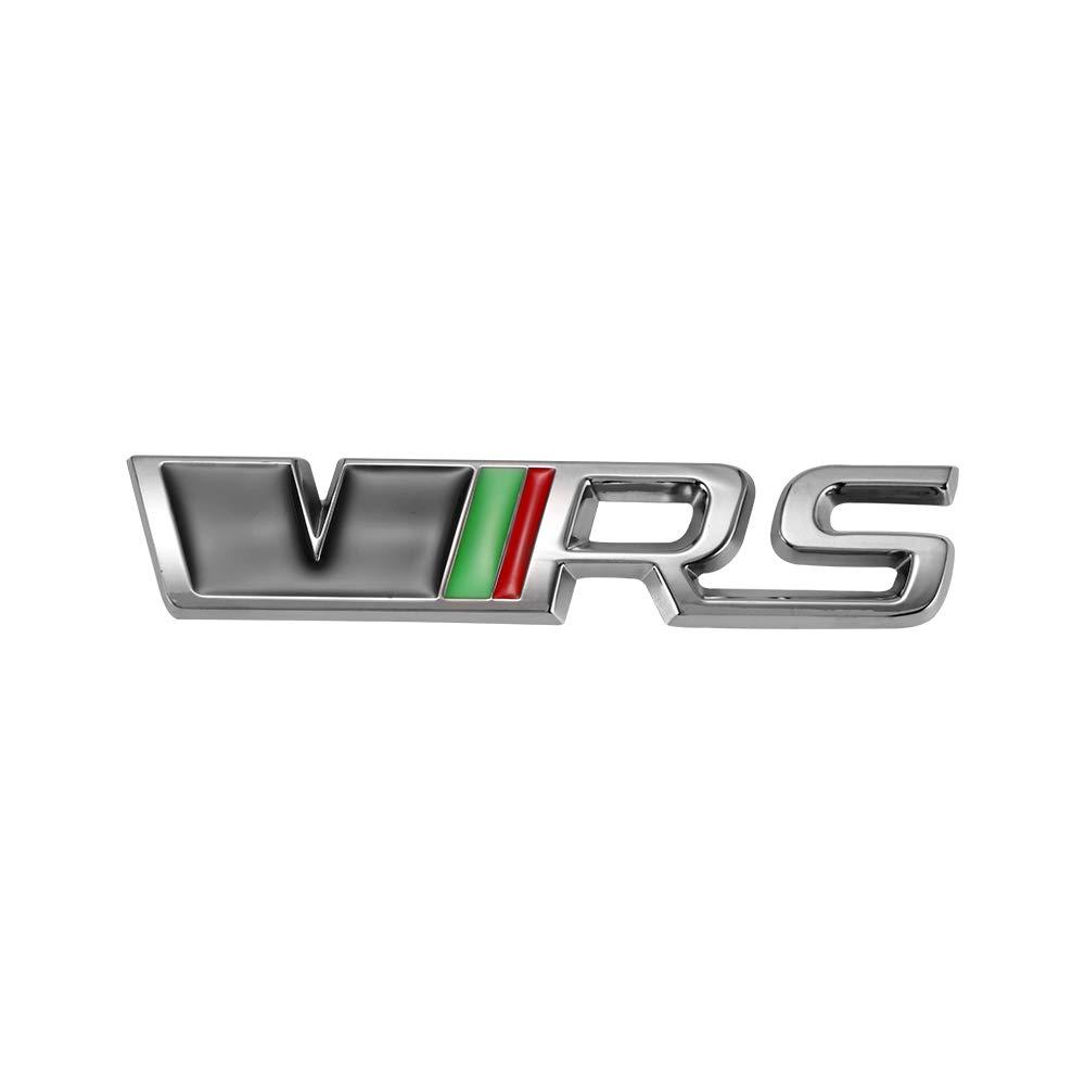 Metal 3D VRS Pegatinas para coches Logo Decoraci/ón Insignias Emblemas Winbang Auto Badge