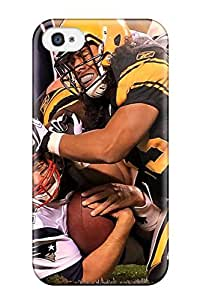 New Fashion Premium Tpu Case Cover For Iphone 4/4s - Pittsburgteelers