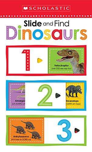 Slide and Find Dinosaurs (Scholastic Early Learner…