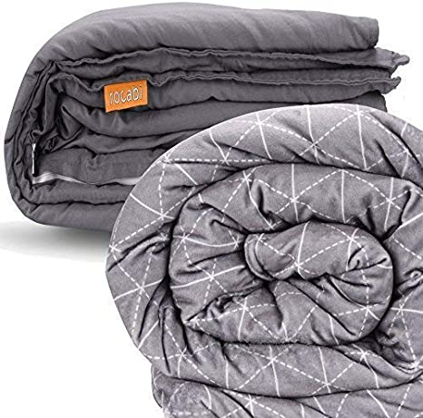 Rocabi 30 lbs Adult Weighted Blanket & Two Cover Set