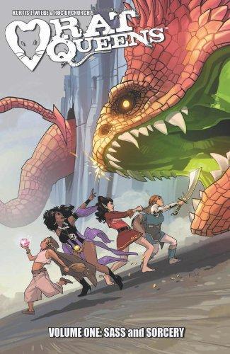 """Rat Queens Volume 1 - Sass & Sorcery TP"" av Roc Upchurch"