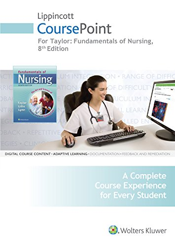 4e Text Package - Taylor 8e CoursePoint & 2e Video Guide; LWW DocuCare One-Year Access; plus Lynn 4e Text Package