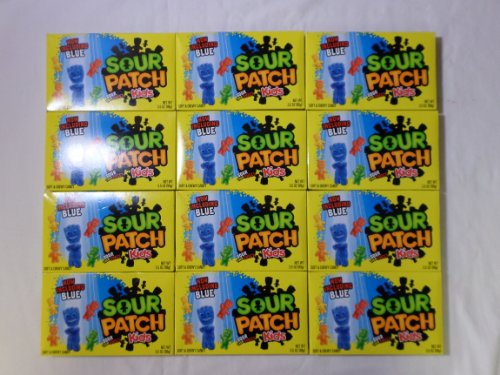 Sour Patch Kids, Soft & Chewy Candy: 12 Packs of 3.5 Oz