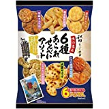 秋田いなふく米菓 6種あられせんべいアソート×3パック入