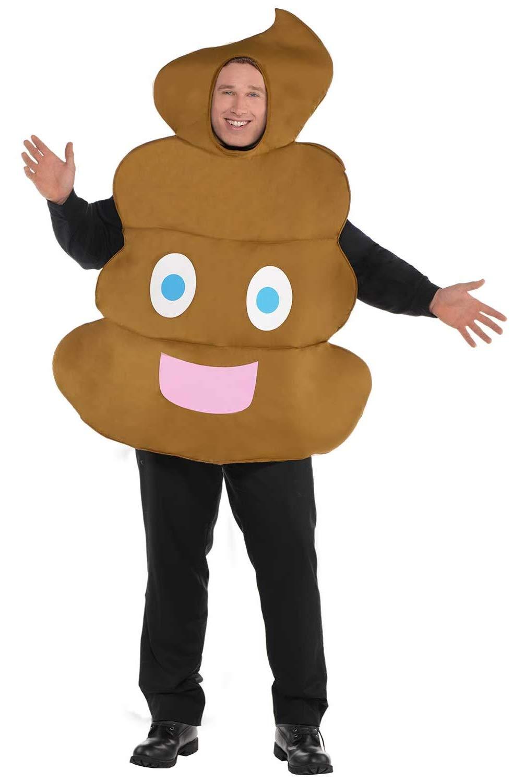 Fancy Me Disfraz para Adultos y Hombres con diseño de Emoji de ...